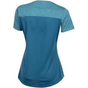 PEARL iZUMi Performance Fietsshirt korte mouwen Dames blauw